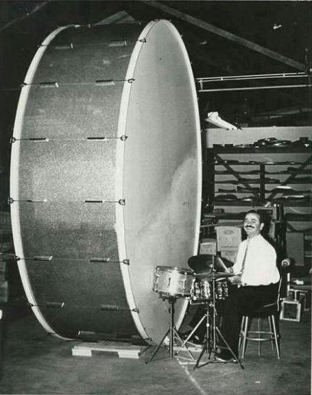 Der große Basstrommel