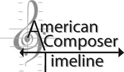 American Composer Timeline