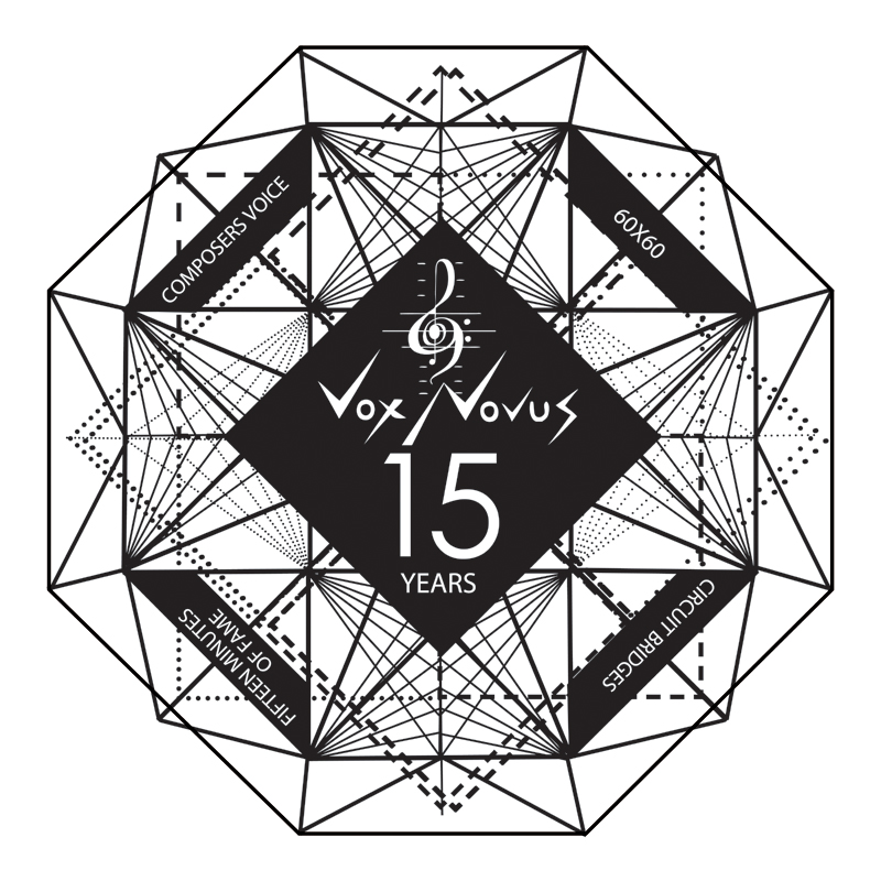 XV - Vox Novus Festival celebrating 15 years