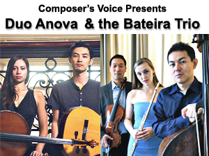 Duo Anova and the Bateira Trio